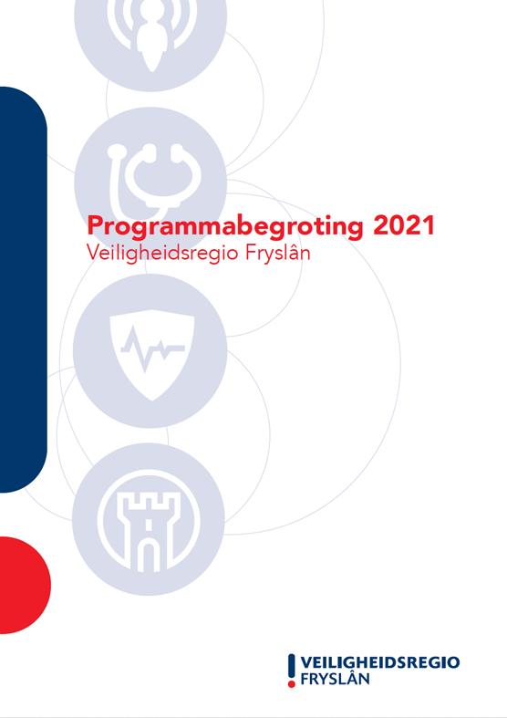 Cover Begroting Veiligheidsregio Fryslân